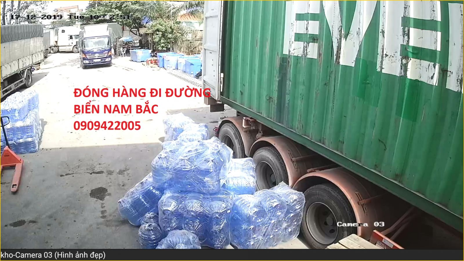 container cho hang